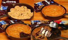 Hugs & CookiesXOXO: SKILLET COOKIES