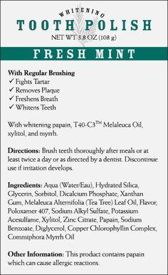 Whitening Tooth Polish—Fresh Mint