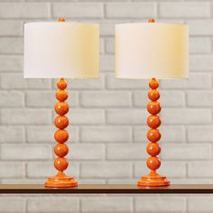 "Varick Gallery 31"" H Table Lamp with Drum Shade & Reviews | Wayfair"