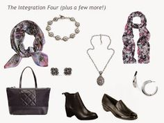 The Vivienne Files: A 4 by 4 Wardrobe in Bright Plum, Smoky Blue, Navy and Grey