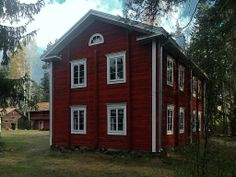 Talomuseo Ränkimäki. - House Museum Ränkimäki, Lapua, South Ostrobothnia province of Western Finland. - Etelä-Pohjanmaa, Scandinavian Countries, Swedish House, Hiding Places, Historic Homes, Old Houses, Shed, Outdoor Structures, Contemporary, Country