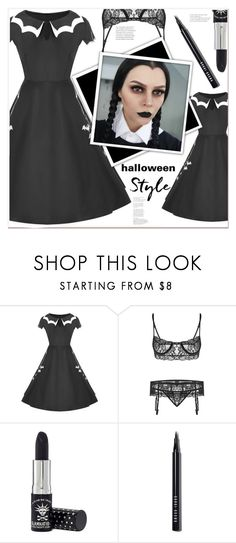 """""""halloween style"""" by mycherryblossom on Polyvore featuring Manic Panic NYC and Bobbi Brown Cosmetics"""