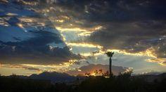 Here's your Sunday sunset ... enjoy!  #summerlin #redrock #sunset #summerlinlv #lasvegas #clouds #Sunday