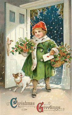 kerst - Christmas -Vintage