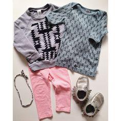 sweatshirt #munkstown || top #brokentricycle || leggings #oldnavy || headband #thiefandbandit || moccasins #freshlypickedmoccs || #min_estyle