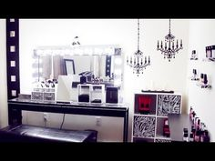Makeup & Studio Room Tour