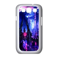 Custom Dreamland Landscape Apple Iphone 4 4S TPU Protection Cover Case DIY(White) Carrying Case