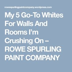 If you've ever walked into a paint store and asked for a white wall paint you know that it's often not as simple as grabbing a… White Wall Paint, White Paints, White Walls, Paint Companies, Family Room Design, Paint Store, Paint Cans, Color Pallets, Business Design