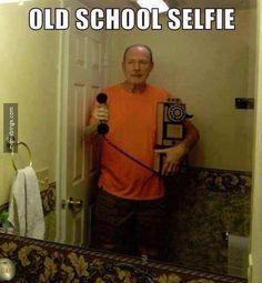 This dad mastered the selfie