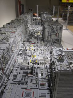 Star Wars Trench Run from the movie: Star Wars IV - A new hope. This MOC is build in 2/3 of mini fig scale and is about 6 meters long. Originally build for the Star Wars day @ Legoland Germany 2011. ( Build by Dutch Moonbase member Marco Baas )