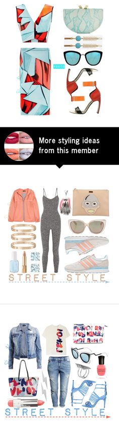 """""""#OOTD - Clover Canyon Skirt Set"""" by adswil on Polyvore"""