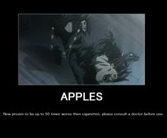 hi my name is mortis and i'm addicted to apples