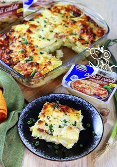 cartofi 2 cu soricel Helathy Food, Romanian Food, Romanian Recipes, Jacque Pepin, Cooking Recipes, Healthy Recipes, Boho Kitchen, Mozzarella, Food Inspiration