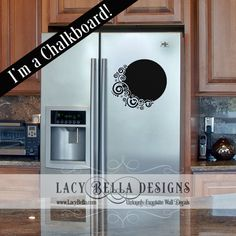 www.lacybella.com This fun design will also bring functionality to your home or office. Liven up wall space and help declutter your desk or fridge with less need for post-it-notes or random scribbles. Bring style to the lists!