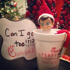 Last week I shared a few of the Elf on the Shelf ideas our family has done. Some were original ideas, and others I snagged from parents that are far more creative than I am. Here are a few other Elf on the Shelf ideas that our crazy elf, Shiny, created. Christmas Time Is Here, Christmas Elf, Christmas Crafts, Christmas Stuff, Christmas Ideas, Xmas, Elf On The Self, The Elf, Holiday Fun