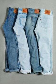 Levi's 511 Light Stonewash Jean Outfits, Cute Outfits, Denim Fashion, Fashion Outfits, Mode Costume, Clothing Photography, Lookbook, Skate, Denim Jeans