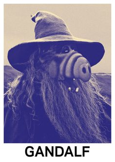 Combining celebrity's names like Yoko Bono or GandAlf is a lot of fun, but Swedish designer Kalle Mattsson took the joke to a whole new level of hilarity when she decided to mashup also their portraits. Gandalf, Buffalo Bills, Bill Gates, Horrible Puns, Cool Tattoos For Girls, Fancy Shop, Mundo Dos Games, Nature Posters, Bad Puns