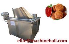 Factory Price Chicken Cutlets Frying Machine For Sale|Chicken Meat Fryer Equipment