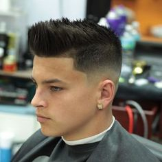 pjabreu_and__pjsbarbershop modern classic high fade short hair
