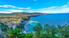 Preview wallpaper amalfi, italy, sea, sorrento, hdr 1366x768