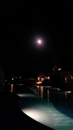 Luna llena en #Punta #Cana @BahiaPrincipe