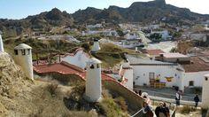 Casas cuevas de #Guadix