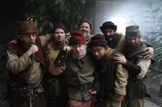 the seven dwarfs #ouat