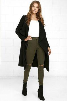 BB Dakota Camila Black Coat