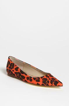 Stella McCartney Leopard Flat