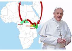 #PopeFrancis' plane arrives in Uganda - Vatican Radio