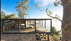 """Sunday inspiration | Modern tiny beach shack in Chile #minimalism #modern #modernbeachhomes #minimal #lessismore #chile #architecture #dwell…"""