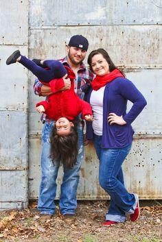 Family Photo, Christmas Photo shoot  Melissa Conn Photography