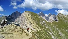 Wanderung zur Steviahütte - Gröden - Dolomiten - Südtirol