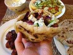 Rubbish BBQ weather huh? Try these Pinchos Morunos or Andalusian style Moorish Kebabs http://ow.ly/xjeUn
