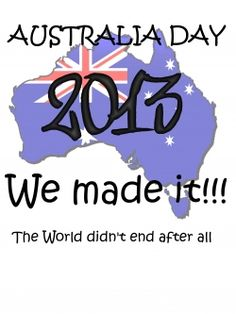 Australia Day It's today! For any of my friends, come into the City and join my friends and I,and make new friends, and enjoy a lot of Australian food, and drinks! Australian Food, Australia Day, Make New Friends, Tee Design, Printable Tags, Geography, Funny, How To Make, January