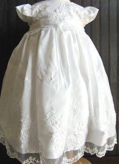 Christening Wardrobe - Helena Girls Christening Gown, $66.95 (http://www.christeningwardrobe.com/helena-girls-christening-gown/)