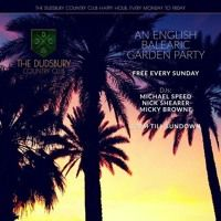 An English Balearic Garden Party Mix Series by Dudsbury Country Club on…