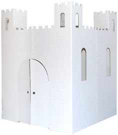 For birthday party: decorate the castle
