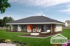 Bungalov 1250 - projekty - rodinné domy EUROLINE - 1