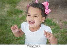 Always full of joy, this darling shined for our camera during her family session at Neshaminy State Park near Philadelphia, Pa