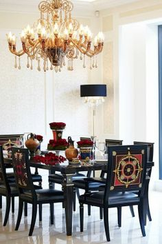 Dining Room-Versace charisma design