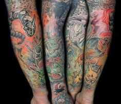 Mens Arm #Tattoo With Pokemon Characters #Tattoos