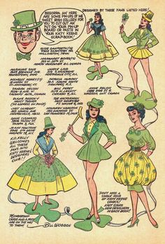 St Patrick's Day Fashions