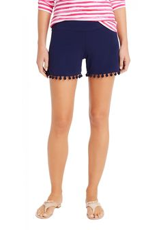 McLaughlin is a destination for defining style. Our collection of women's and men's clothing and accessories reflects our casual, classic style peppered with a dose of wit. Pom Pom Shorts, J Mclaughlin, Classic Style, My Style, Looks Great, Casual Shorts, Gym Shorts Womens, Clothes For Women, How To Wear