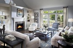 Great Living Room - Makes you want to relax and have friends over!