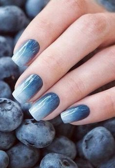 Blueberry Nails #TheBeautyAddict