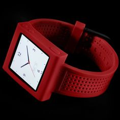 Sports Watch Band Red now featured on Fab.