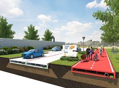 volkerwessels, plastic roads, dutch plastic roads, plastic prefabricated bricks, plastic bricks that snap together, recycled plastic waste, recycled plastic from oceans