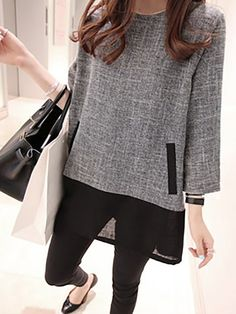 Buy Casual Dresses For Women at JustFashionNow. Online Shopping Justfashionnow Casual Dresses Long Sleeve Daily A-Line Crew Neck Paneled Sweet Dresses, The Best Holiday Casual Dresses. Discover Fashion Trends at justfashionnow.com