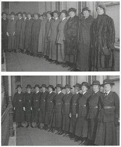 British Women Police Officers 1917 by Leonard Bentley, via Flickr